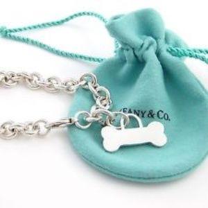 Authentic Tiffany & Co Bone Charm Bracelet